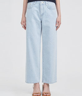 Light Fresh Wide Denim Pants