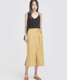 Deep Simple Knit Sleeveless