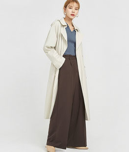 Keep Daily Mood Trench Coat