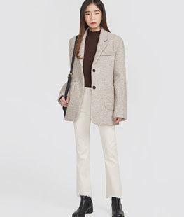 Monday Clean Wool Jacket
